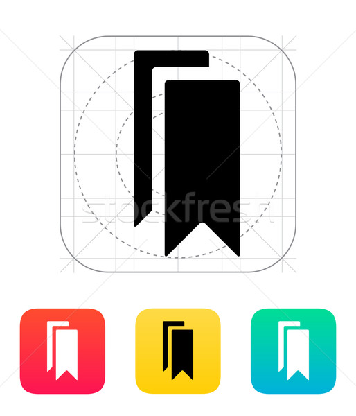 Bookmarks icon. Stock photo © tkacchuk