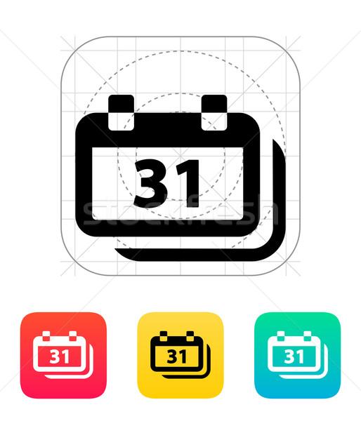 Dates icon. Stock photo © tkacchuk