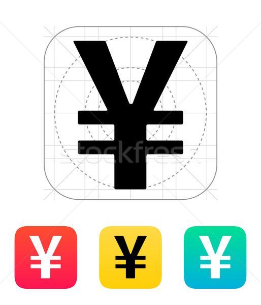 Chinese yuan icon. Stock photo © tkacchuk
