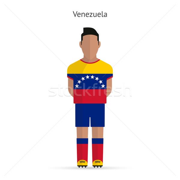 Venezuela futbolista fútbol uniforme resumen fitness Foto stock © tkacchuk