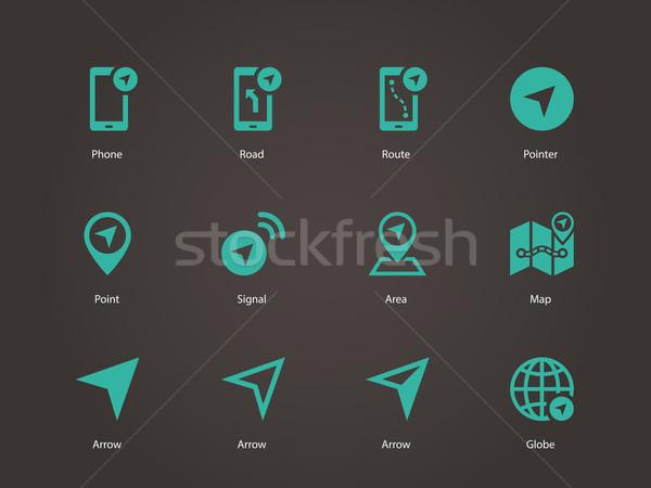 Navigator icons. Stock photo © tkacchuk