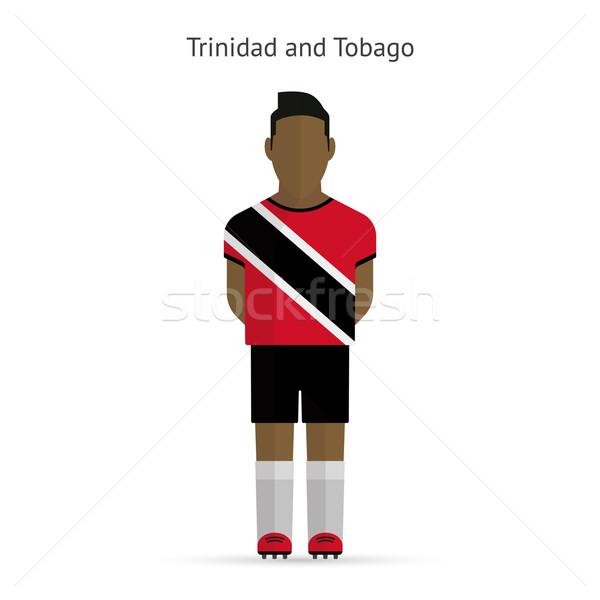 サッカー ユニフォーム 抽象的な フィットネス チーム ストックフォト © tkacchuk