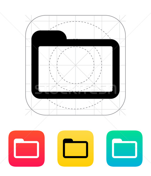 Folder icon. Stock photo © tkacchuk