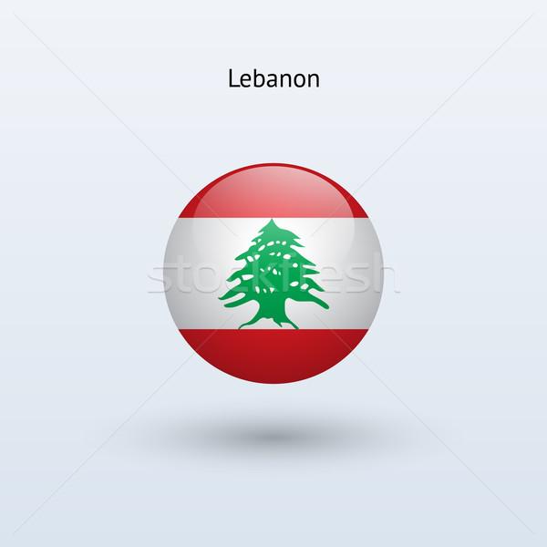 レバノン フラグ グレー にログイン ウェブ 旅行 ストックフォト © tkacchuk