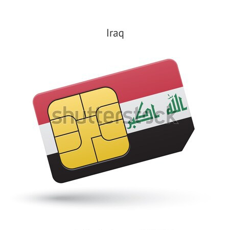 Credit card with United Arab Emirates flag background for bank, presentations and business. Isolated Stock photo © tkacchuk