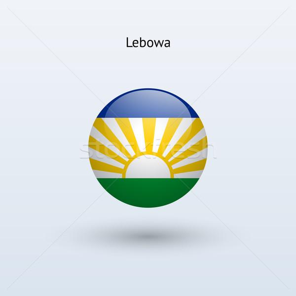 Banderą szary podpisania internetowych podróży kraju Zdjęcia stock © tkacchuk