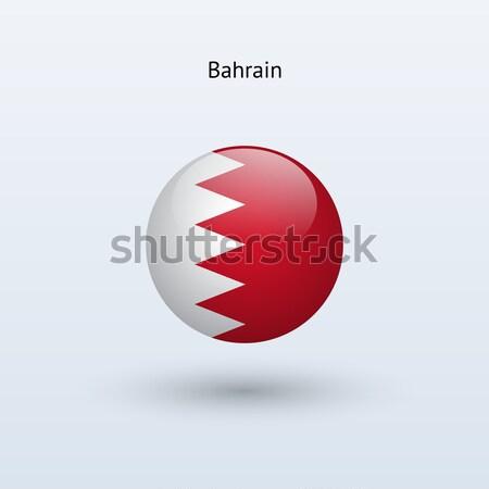 Bahrein bandeira cinza assinar teia viajar Foto stock © tkacchuk