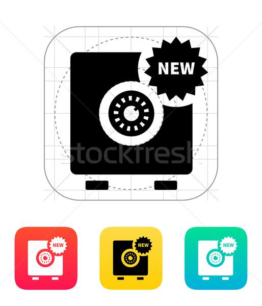 New strongbox icon. Stock photo © tkacchuk
