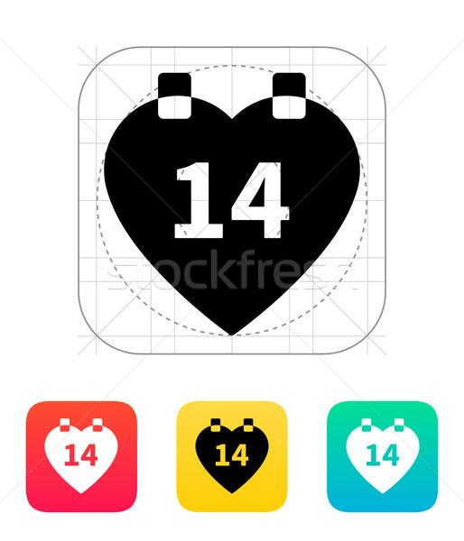 Valentine's Day icon. Stock photo © tkacchuk