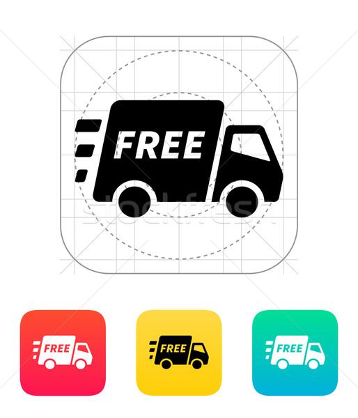 Free delivery support icon. Stock photo © tkacchuk