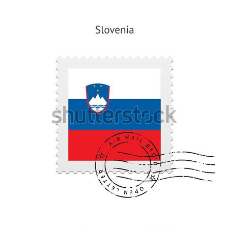 State of California flag postage stamp. Stock photo © tkacchuk
