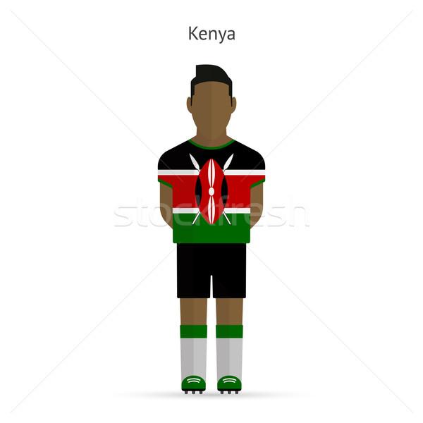 ケニア サッカー ユニフォーム 抽象的な フィットネス ストックフォト © tkacchuk