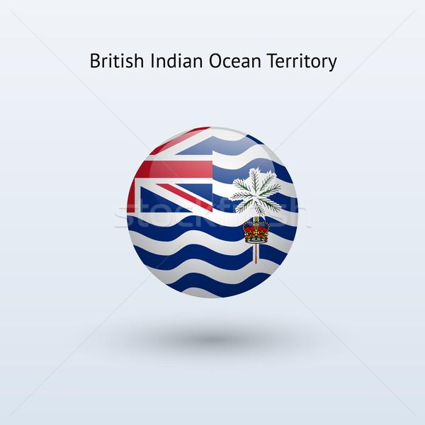 Britannico indian Ocean territorio bandiera grigio Foto d'archivio © tkacchuk