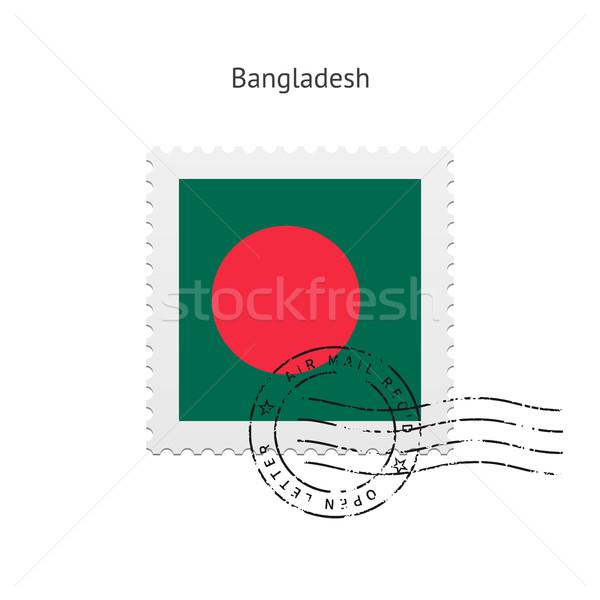 Bangladesh bandeira branco assinar carta Foto stock © tkacchuk