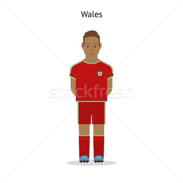 Football kit. Wales Stock photo © tkacchuk