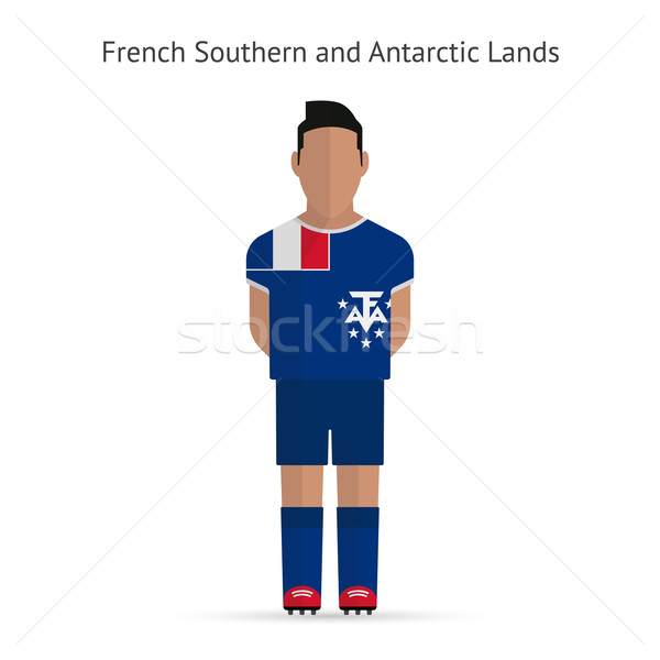 French Southern and Antarctic Lands football player. Stock photo © tkacchuk
