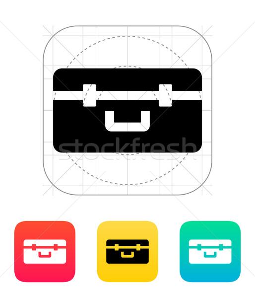 Box for quadcopter icon. Stock photo © tkacchuk