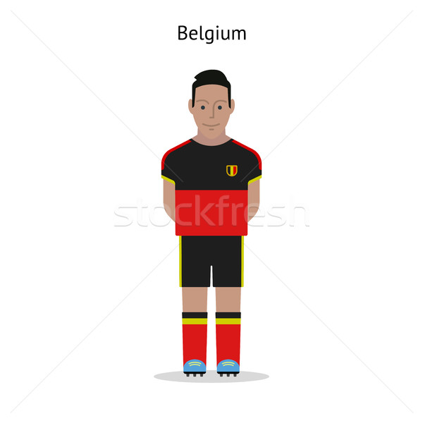 Football kit. Belgium Stock photo © tkacchuk