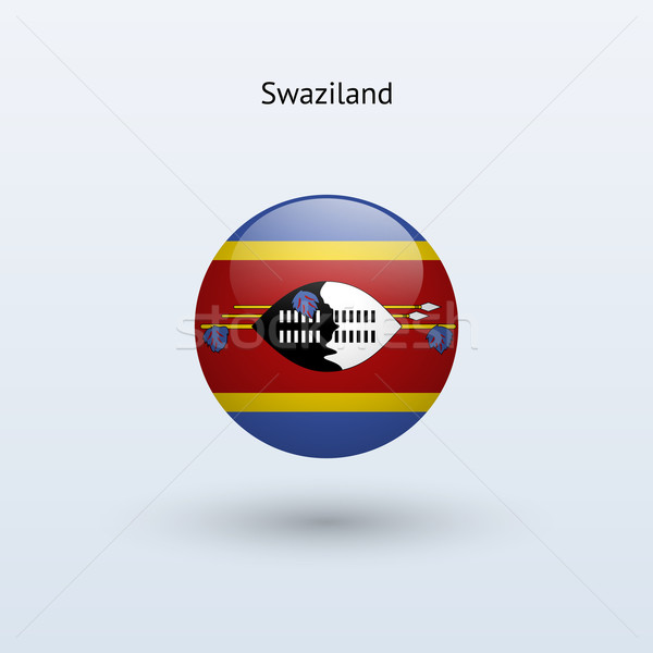 Swaziland pavillon gris signe web Voyage Photo stock © tkacchuk