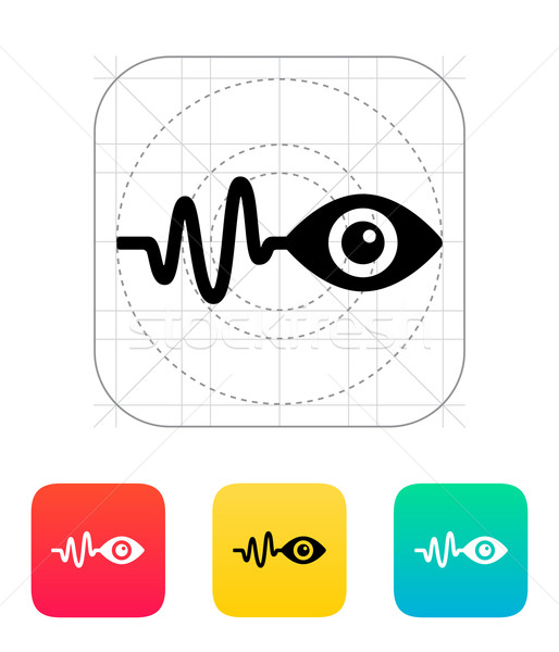 Pulse observation icon. Stock photo © tkacchuk