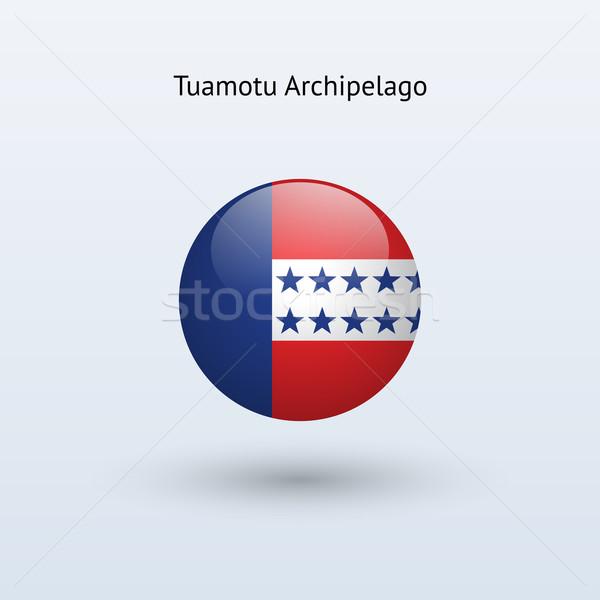 Szigetvilág zászló szürke felirat háló utazás Stock fotó © tkacchuk