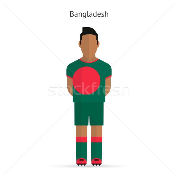 Bangladesh voetballer voetbal uniform abstract fitness Stockfoto © tkacchuk