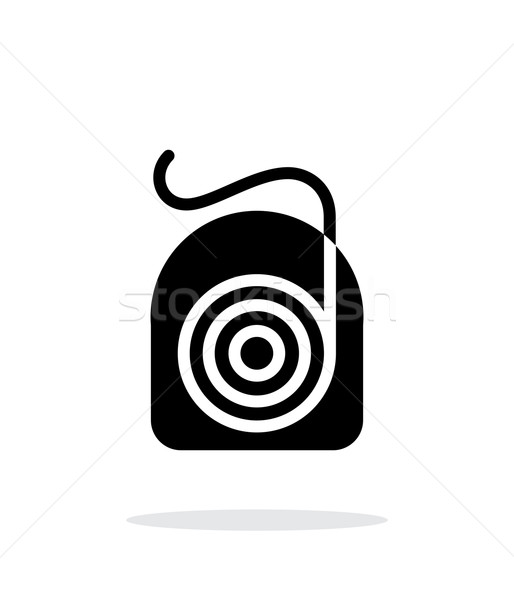 Dental floss icon. Stock photo © tkacchuk