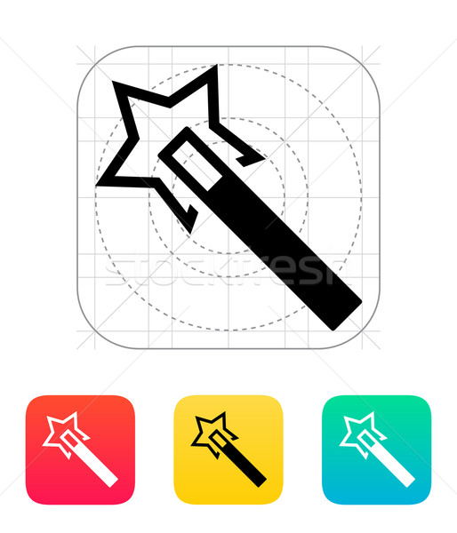 Flash magic wand icon. Stock photo © tkacchuk