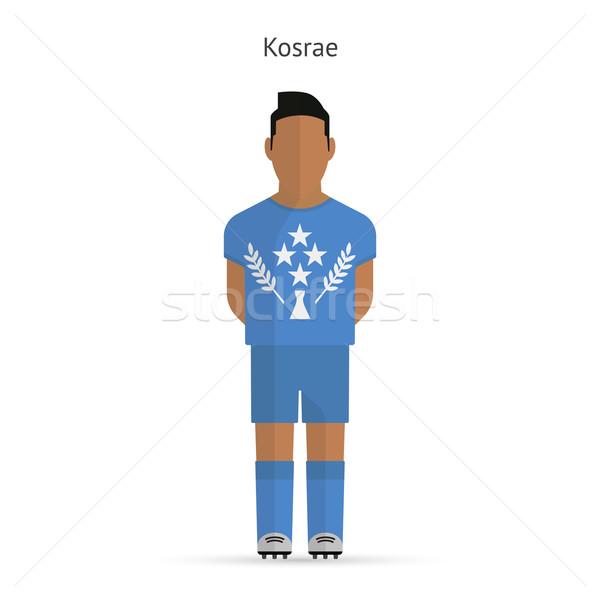 Kosrae football player. Soccer uniform. Stock photo © tkacchuk