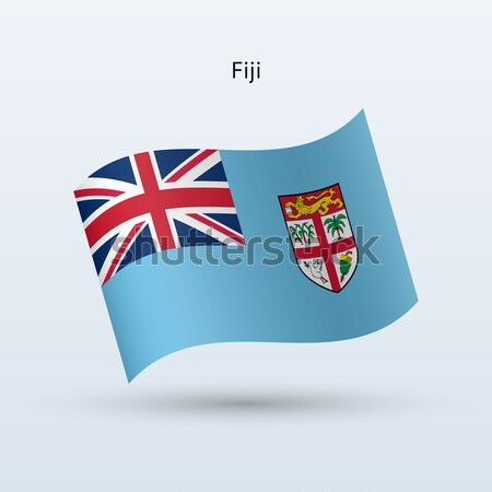 Cartão de crédito Fiji bandeira banco apresentações negócio Foto stock © tkacchuk