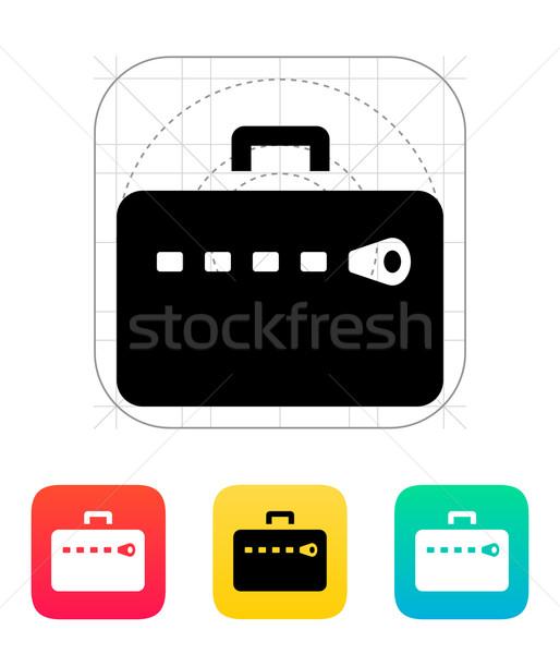 Zipper case icon. Stock photo © tkacchuk