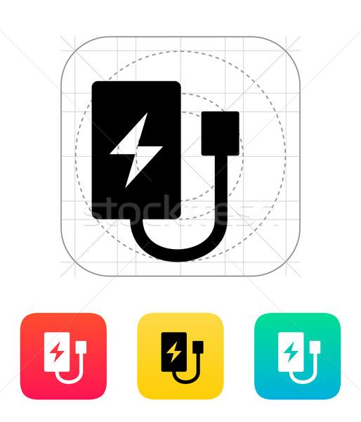Drone charger icon. Stock photo © tkacchuk