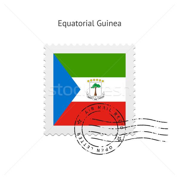 Guinea Equatoriale bandiera bianco segno lettera Foto d'archivio © tkacchuk