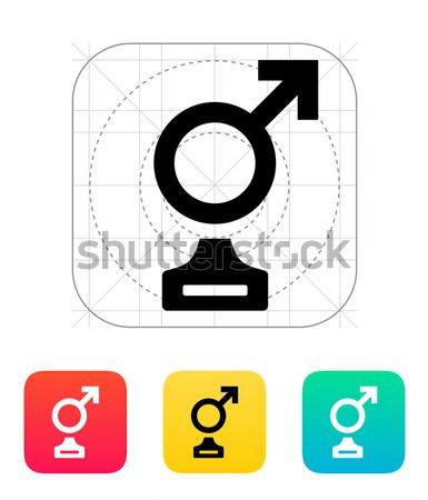 トランスジェンダー アイコン ゲイ 結婚 人間 男性 ストックフォト © tkacchuk