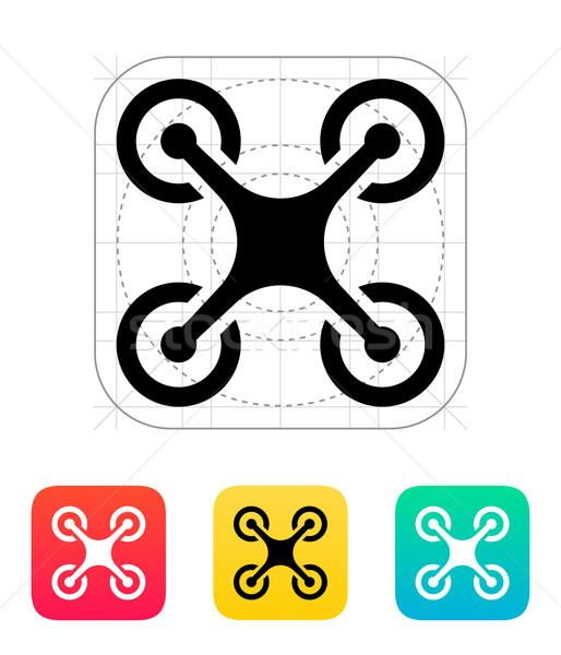 Quadcopter icon. Stock photo © tkacchuk