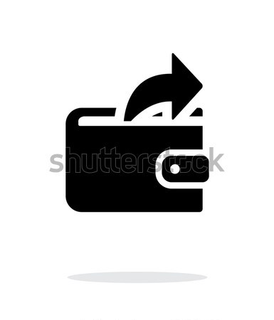 Outgoing payment from wallet icon Stock photo © tkacchuk