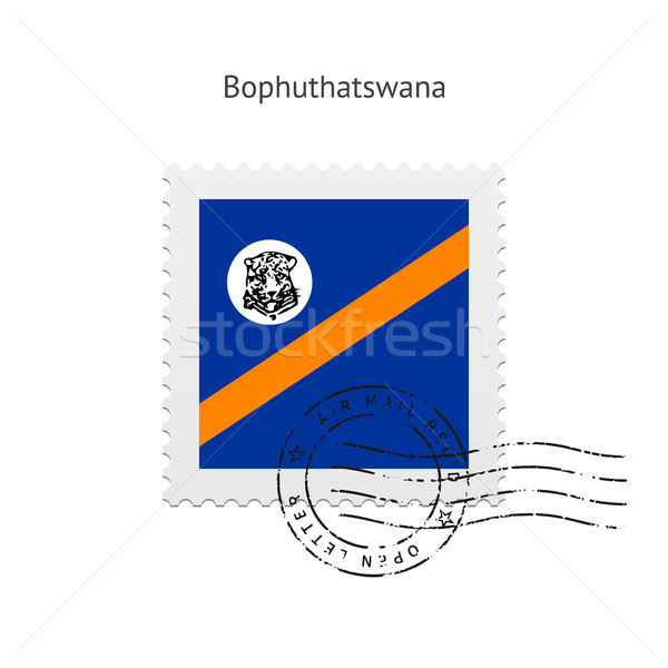 Bophuthatswana Flag Postage Stamp. Stock photo © tkacchuk