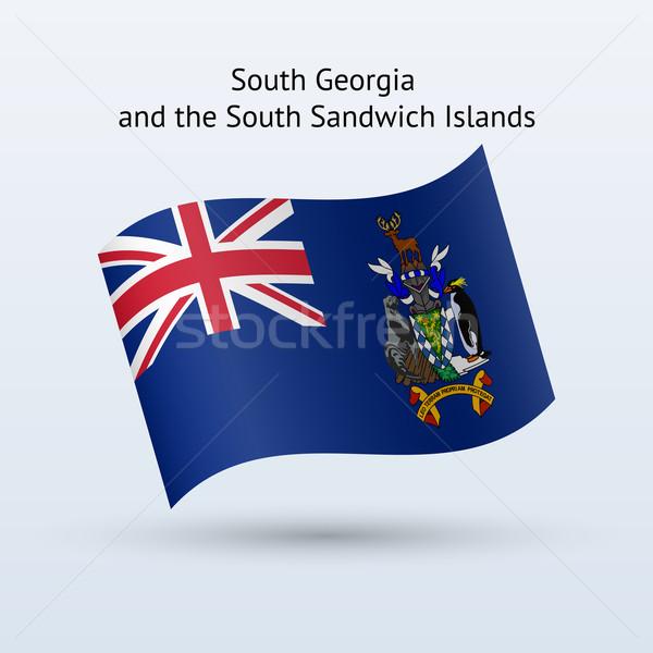 Sur Georgia sándwich bandera Foto stock © tkacchuk