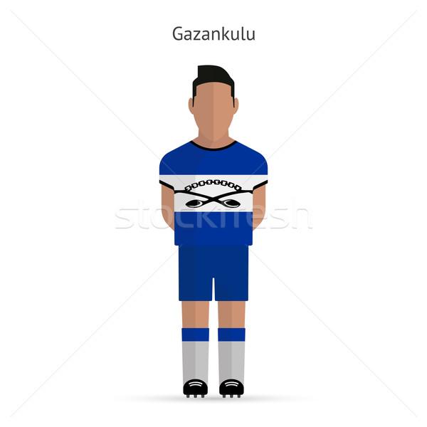 Gazankulu football player. Soccer uniform. Stock photo © tkacchuk