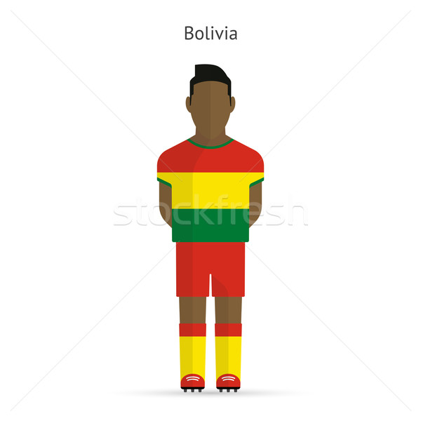 ボリビア サッカー ユニフォーム 抽象的な フィットネス ストックフォト © tkacchuk