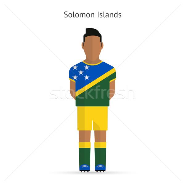Isole Salomone calcio uniforme abstract fitness Foto d'archivio © tkacchuk