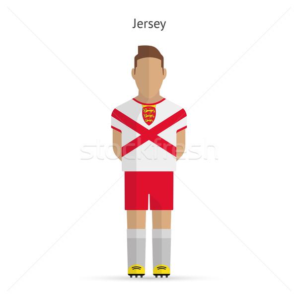Jersey football player. Soccer uniform. Stock photo © tkacchuk