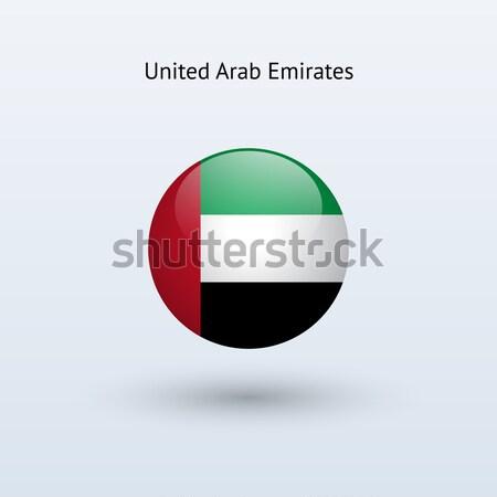 Kuwait bandiera grigio segno web viaggio Foto d'archivio © tkacchuk