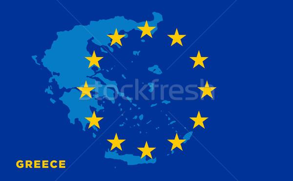 Bandiera unione vettore viaggio Foto d'archivio © tkacchuk