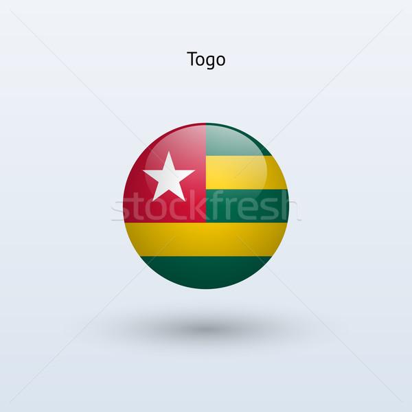 Togo bandiera grigio segno web viaggio Foto d'archivio © tkacchuk