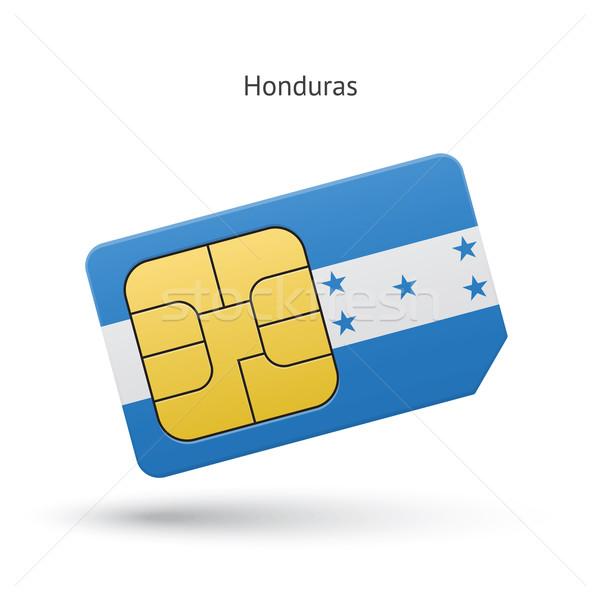 Honduras cellulare carta bandiera business design Foto d'archivio © tkacchuk