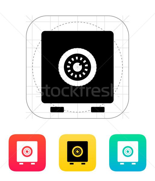 Strongbox icon. Stock photo © tkacchuk