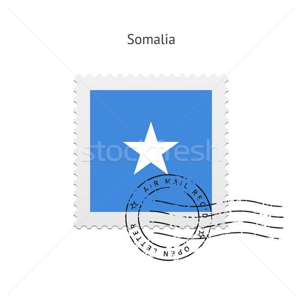 Somalie pavillon blanche signe lettre Photo stock © tkacchuk