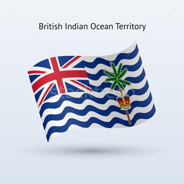 Britannico indian Ocean territorio bandiera Foto d'archivio © tkacchuk