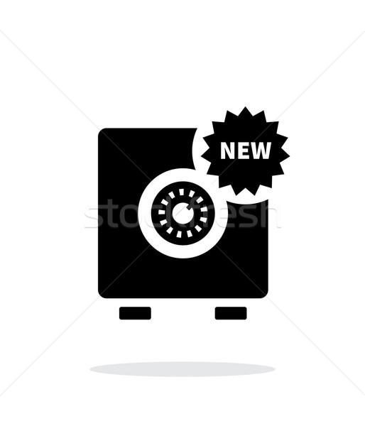 New strongbox icon on white background. Stock photo © tkacchuk
